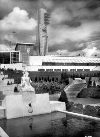Empire Exhibition - grand staircase and Tait Tower