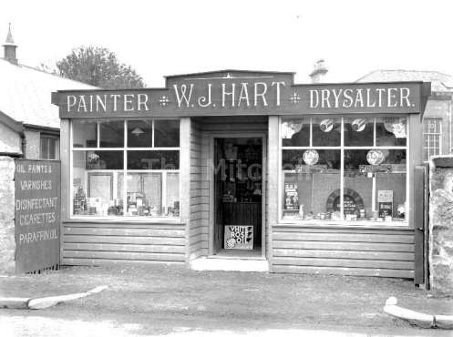Old shop in Corkerhill