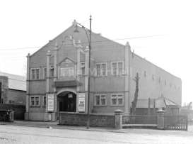 Mosspark Picture House before alterations